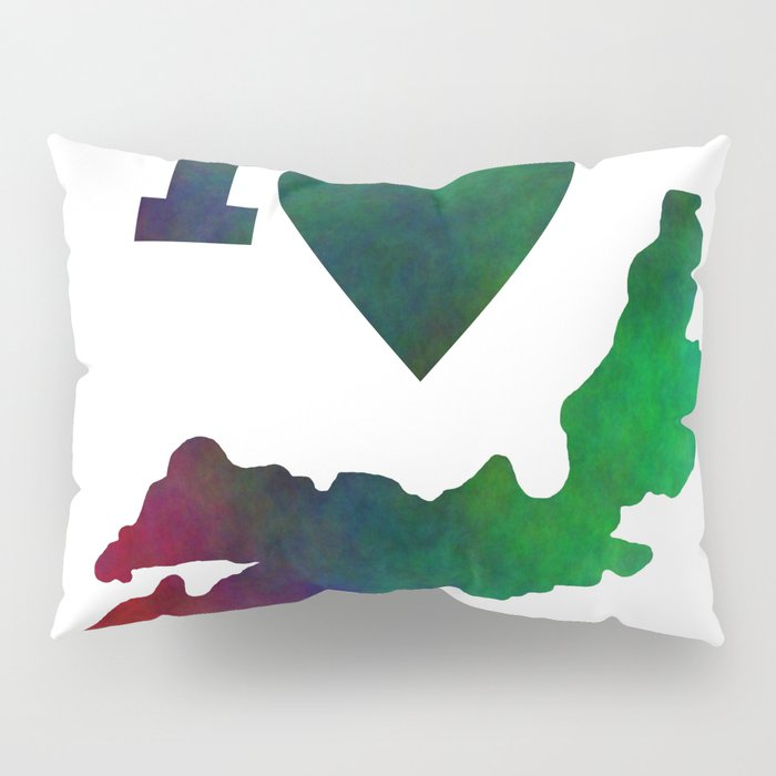 I Love Nova Scotia Pillow Sham