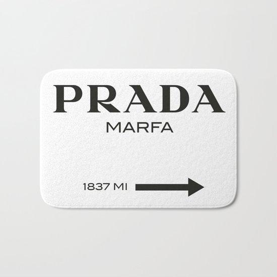 PradaMarfa sign Bath Mat