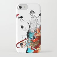 sketch iPhone & iPod Cases featuring Sketch by Adriana Bermúdez