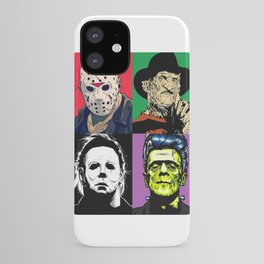 Horror Pop Art iPhone Case