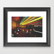 This Is How To Move Forward Framed Art Print