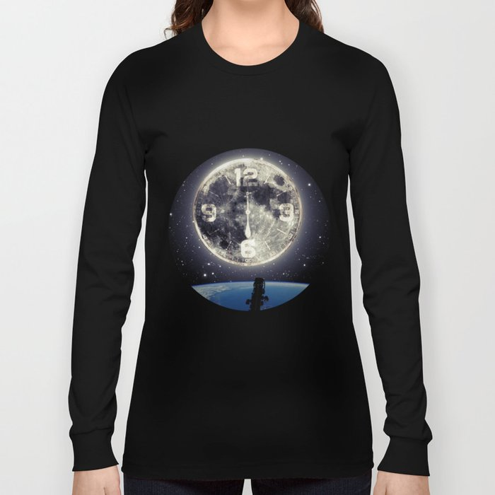 Midnight at Space Long Sleeve T-shirt