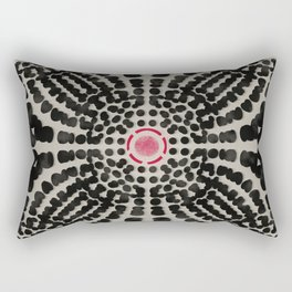 Linen and Beadwork (1) Rectangular Pillow