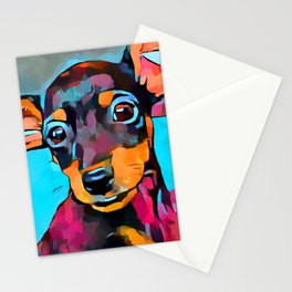 Miniature Pinscher Stationery Cards