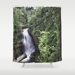 Miners Falls at Pictured Rock National Lakeshore 2 Shower Curtain