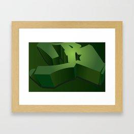 All Star B Framed Art Print