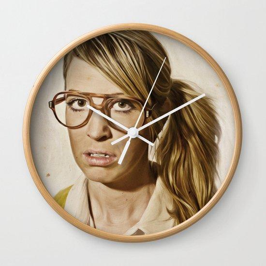 i.am.nerd. : Lizzy Wall Clock