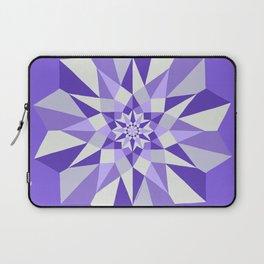 Diamond Purple Mandala Laptop Sleeve