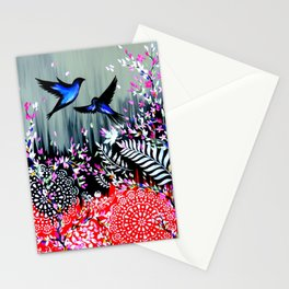 New Zealand Abstract Design Stationery Cards