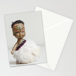 A Maori Manu Doll Stationery Cards