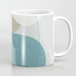 Abstract Stones in Blue No. 3 Coffee Mug