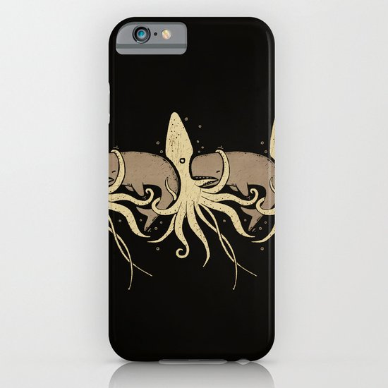 THE WHALE AND THE SQUID iPhone & iPod Case