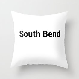 South Bend Throw Pillow