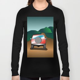 Exploring the countryside Long Sleeve T-shirt