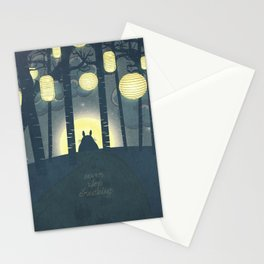 Totoro ' s Dream  Stationery Cards