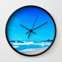 Carribean Coast Wall Clock