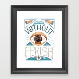 Vision Framed Art Print