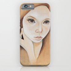 Self Portrait on Wood Slim Case iPhone 6s