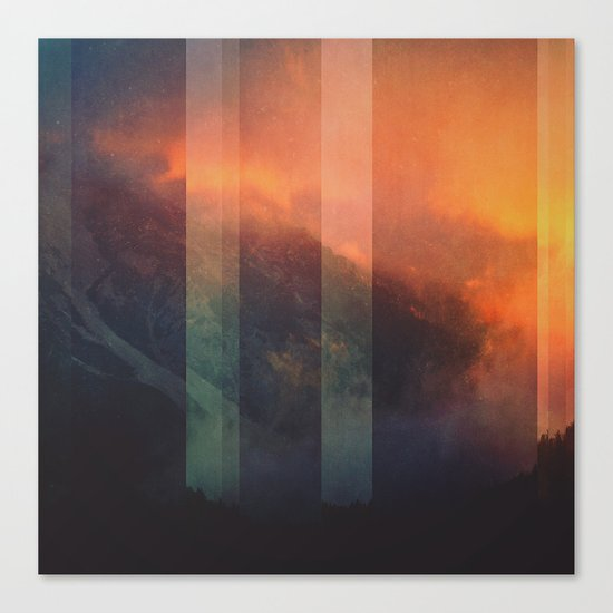 Fractions A98 Canvas Print