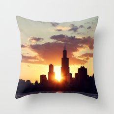 Chi Sky Throw Pillow