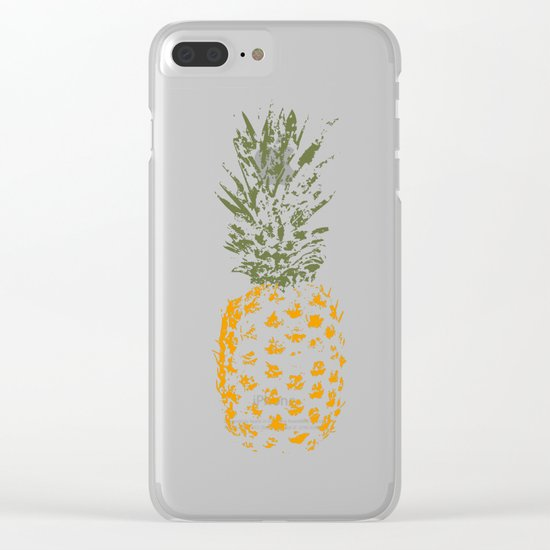 Pineapple I Clear iPhone Case