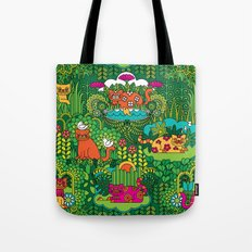 Lords of the Jungle Tote Bag