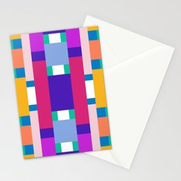 POP RECTANGLES Stationery Cards