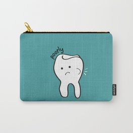 Poorly Tooth Carry-All Pouch