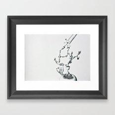 They grow It Framed Art Print
