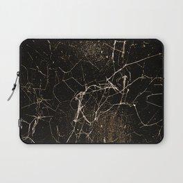 Spider Web Print Grunge Dark Texture Laptop Sleeve