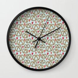 Pattern Project #43 / Pretzel Love Wall Clock