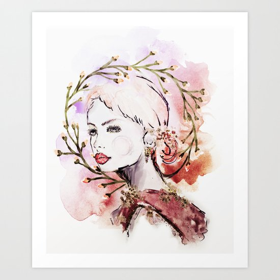 Noël Art Print