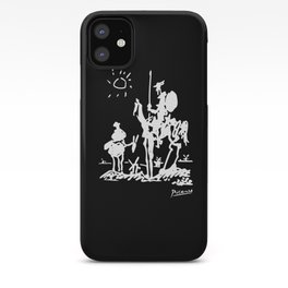 Pablo Picasso Don Quixote 1955 Artwork Shirt, Reproduction iPhone Case