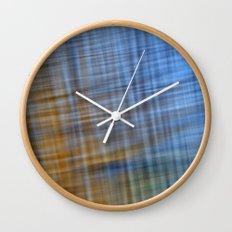 Water Pattern #4 Wall Clock