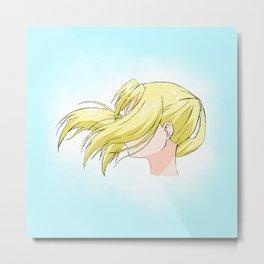 The blonde side Metal Print