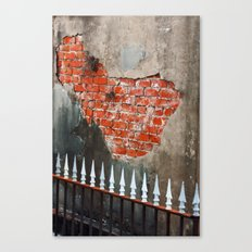Nola Brick Crypt  Canvas Print