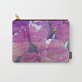 Tulips with the Blues Carry-All Pouch