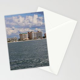 Fort Myers Beach from the Gulf Stationery Cards