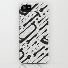 Tools Pattern iPhone Case