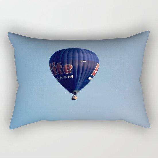 Blue air balloon Rectangular Pillow