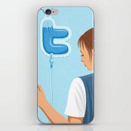 Twitter Drip iPhone Skin