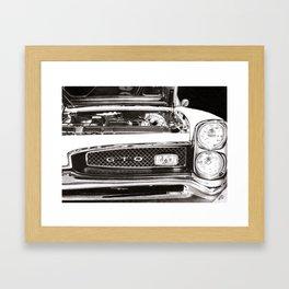 Pontiac GTO 1967  Framed Art Print
