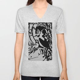 She is Clothed in Strength and Dignity Unisex V-Neck
