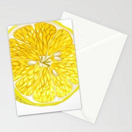 Lemon Slices Graphic Design Stationery Cards