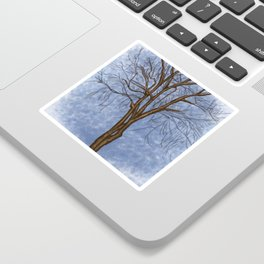 The Twisted Tree Sticker