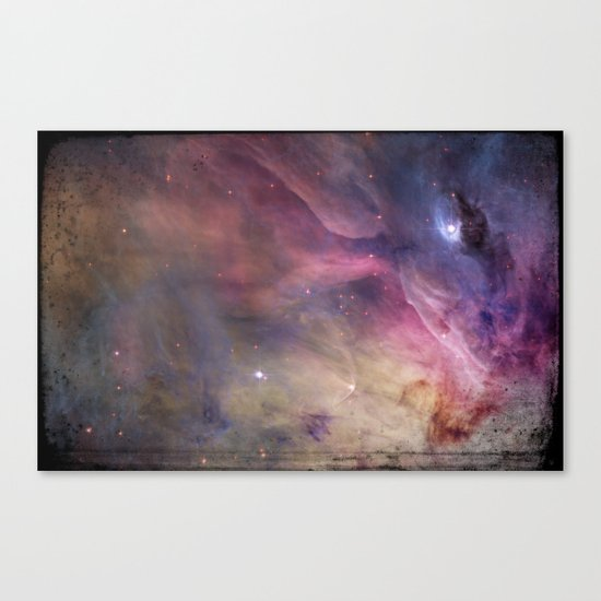 Gundam Retro Space 2 - No text Canvas Print