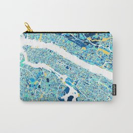 New York City Map United states full color Carry-All Pouch