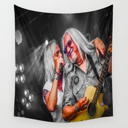 Rock Meets Classic Wall Tapestry