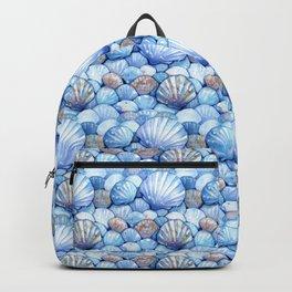 Sea Shells Aqua Backpack