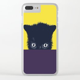 Kitty cat Clear iPhone Case
